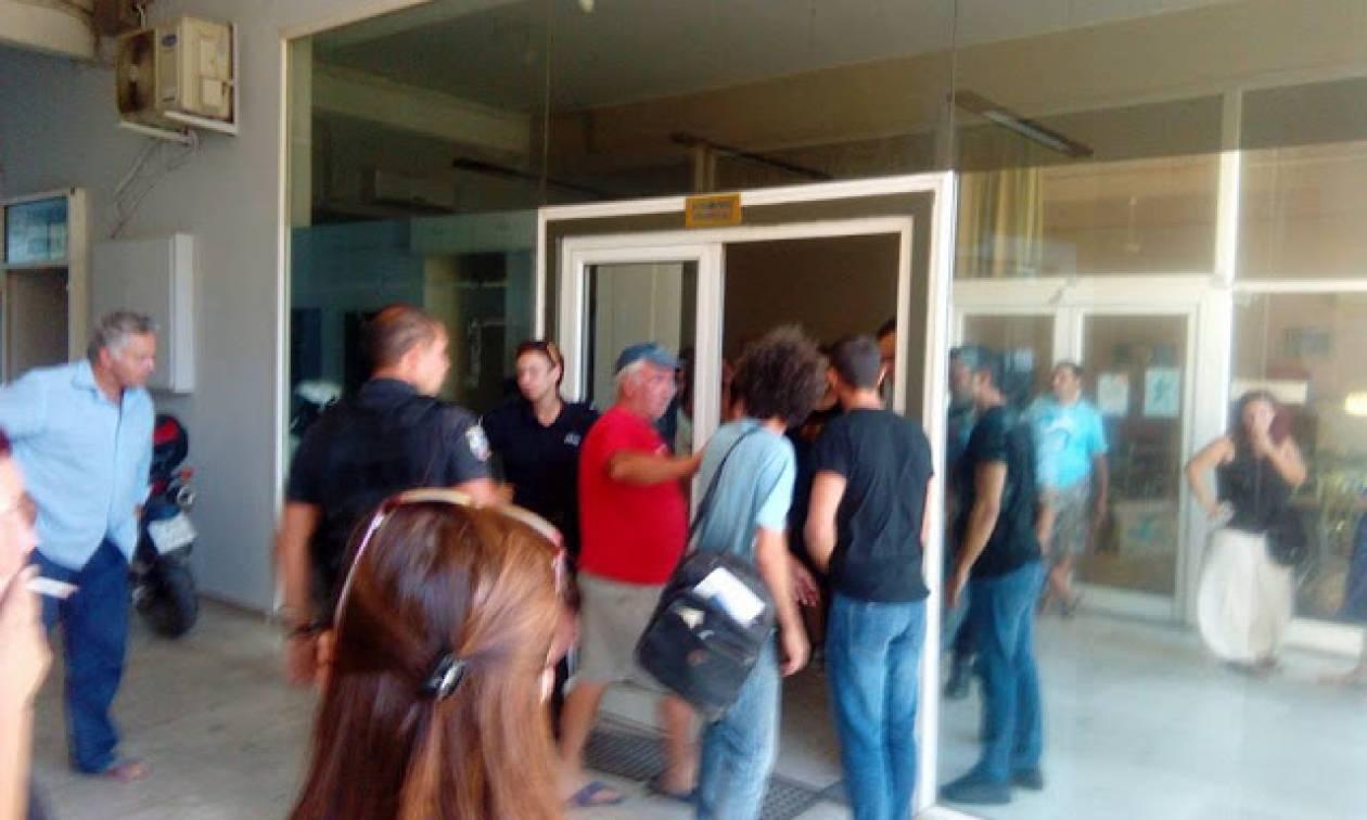 Άργος: Επεισόδια και προσαγωγές μελών του κινήματος κατά των πλειστηριασμών (vid)