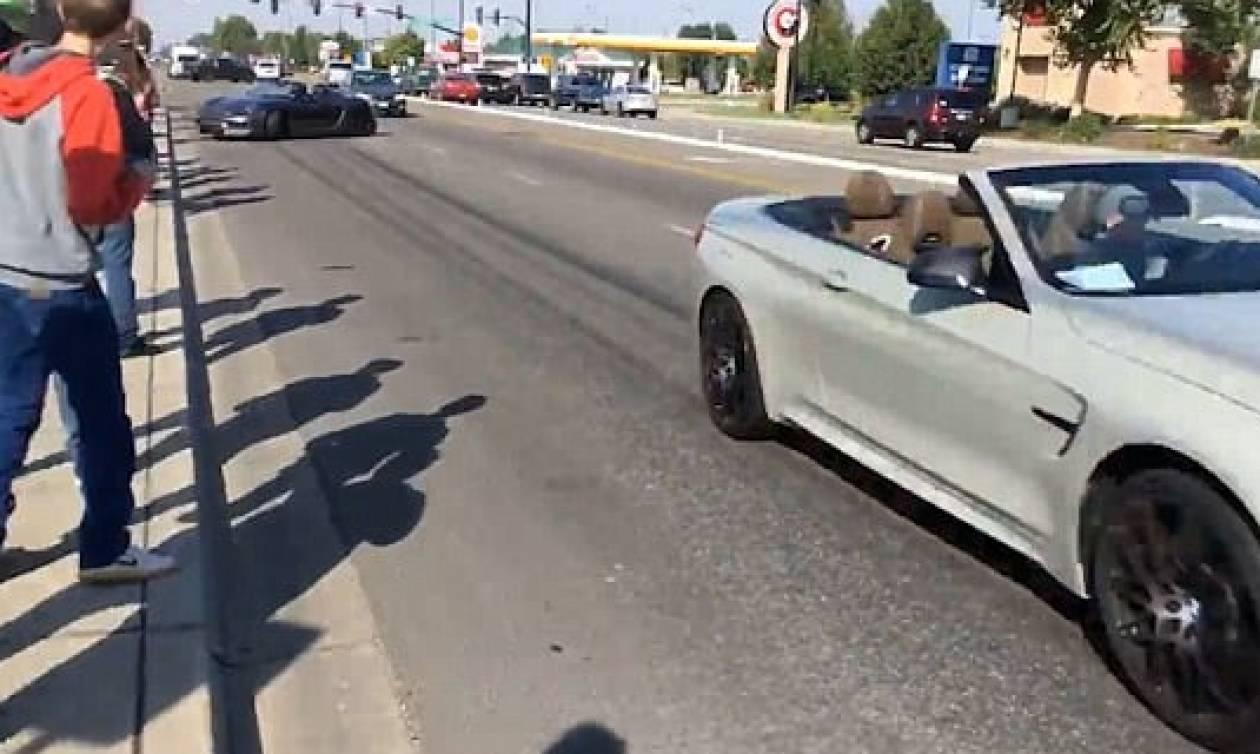 Βίντεο σοκ: Porsche πέφτει ανεξέλεγκτη πάνω σε πλήθος τραυματίζοντας 11 άτομα