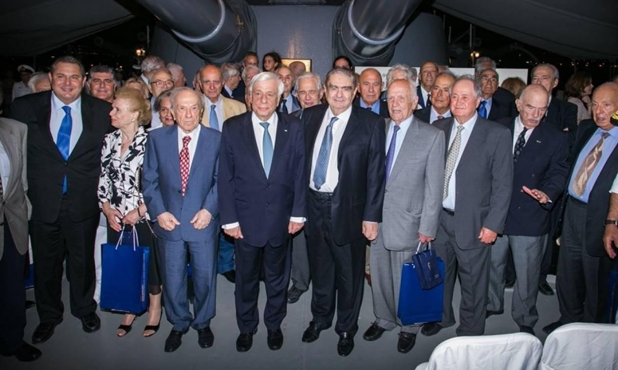 Ο Πρόεδρος της Δημοκρατίας τίμησε το Κίνημα του Ναυτικού