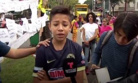 Σεισμός Μεξικό: Συγκλονίζει μαθητής του σχολείου που κατέρρευσε (vid)