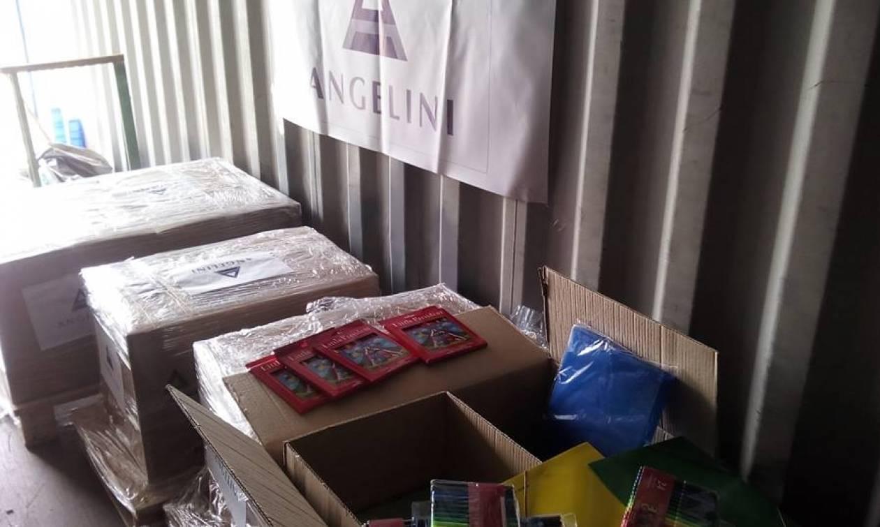 Η Angelini Pharma στηρίζει έμπρακτα τους σεισμόπληκτους της Μυτιλήνης