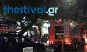 Φωτιά στα ΚΤΕΛ Θεσσαλονίκης