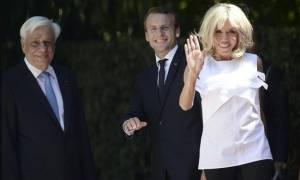 Μπριζίτ Μακρόν: Αποκάλυψε τι την εντυπωσίασε στην Ελλάδα (vid)