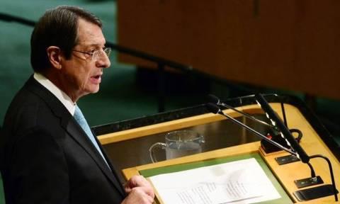 Κυπριακό: Κρίσιμη συνάντηση Αναστασιάδη - Γκουτέρες στην έδρα του ΟΗΕ