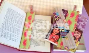 DIY: Φτιάξτε μόνη σας πρωτότυπους σελιδοδείκτες