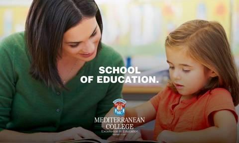 Στο Βρετανικό TOP20 η Σχολή Επιστημών της Αγωγής του Mediterranean College!