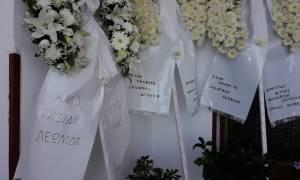 Αγρίνιο: Σε κλίμα οδύνης το τελευταίο «αντίο» στους δύο σμηνίτες (pics)