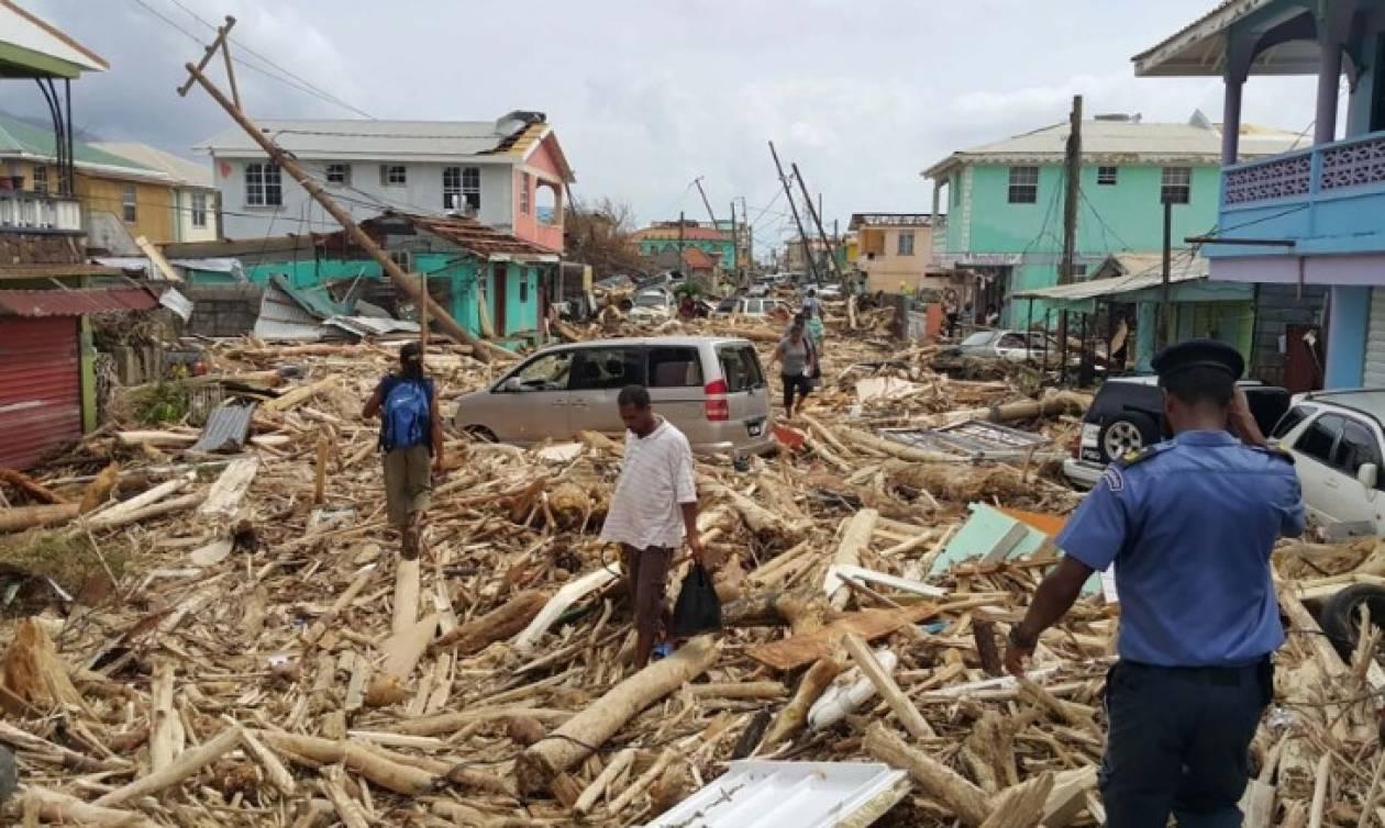 Συντρίμμια και θάνατο «σπέρνει» ο κυκλώνας Μαρία στην Καραϊβική – Αυξάνονται διαρκώς οι νεκροί (Vid)