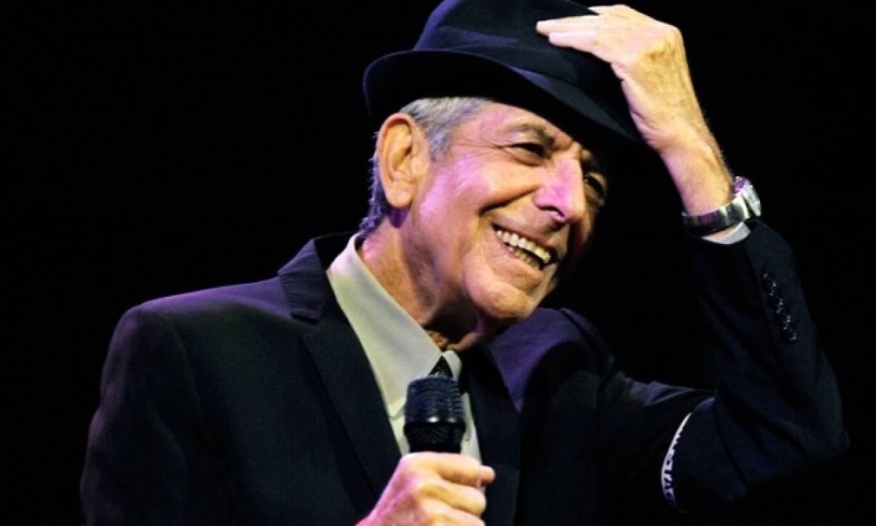 Ελβις Κοστέλο, Λάνα Ντελ Ρέι, Στινγκ τραγουδούν για τον Λέοναρντ Κοέν