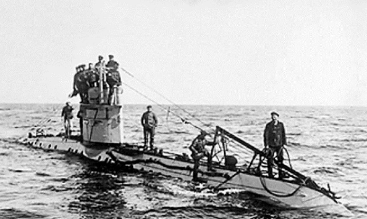 Ανακαλύφθηκε ναυάγιο γερμανικού υποβρυχίου του Α' Παγκοσμίου Πολέμου
