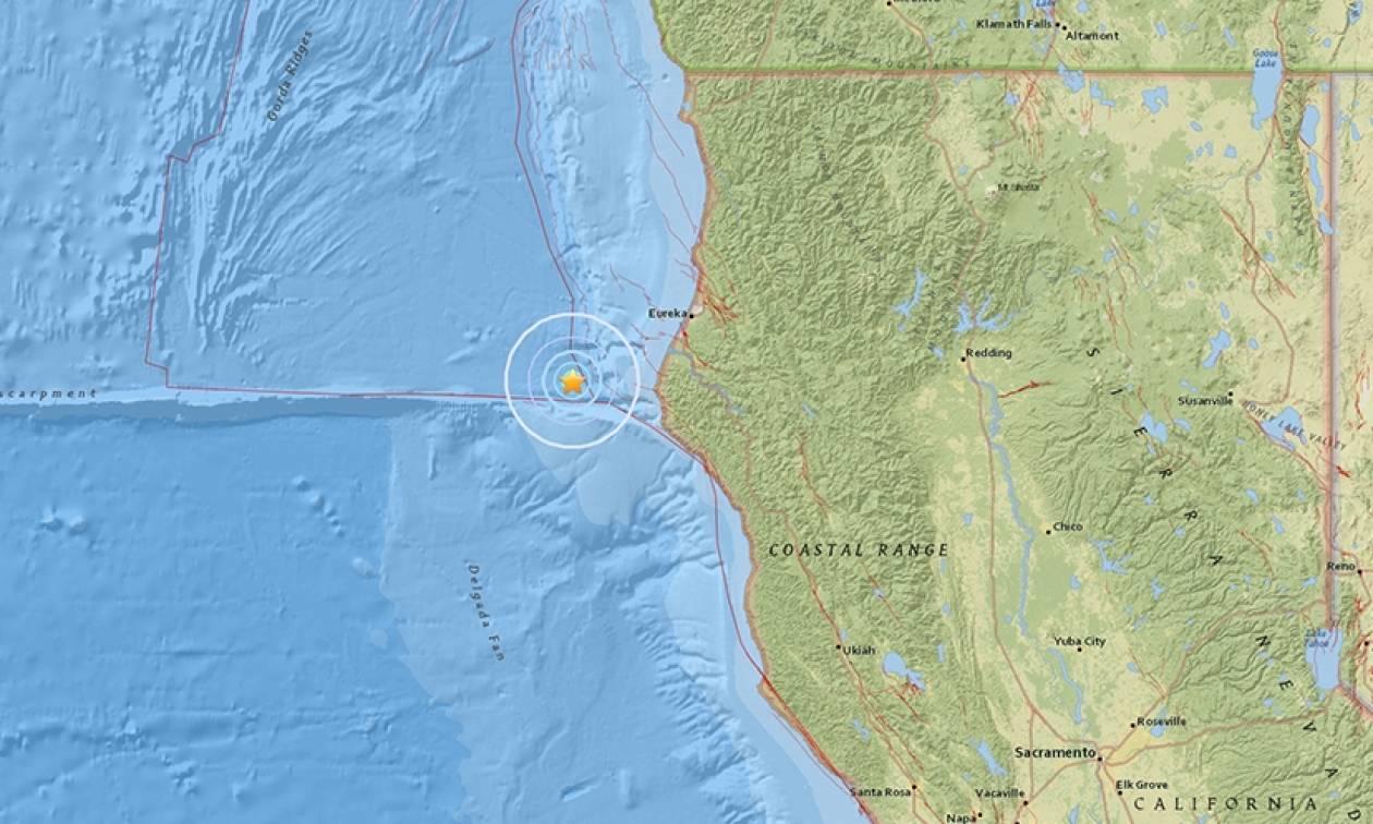 Μεγάλος σεισμός στην Καλιφόρνια