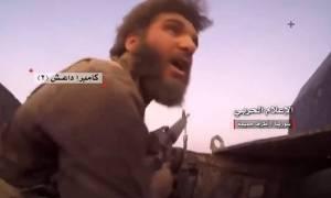Βίντεο – σοκ: Τζιχαντιστής ανατινάσσεται μέσα σε άρμα μάχης