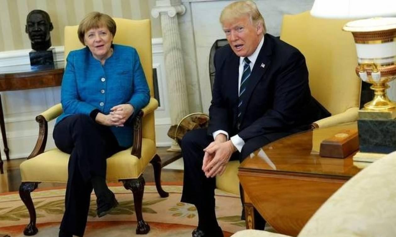 Γιατί ο Τραμπ τηλεφώνησε ξαφνικά στην Άνγκελα Μέρκελ