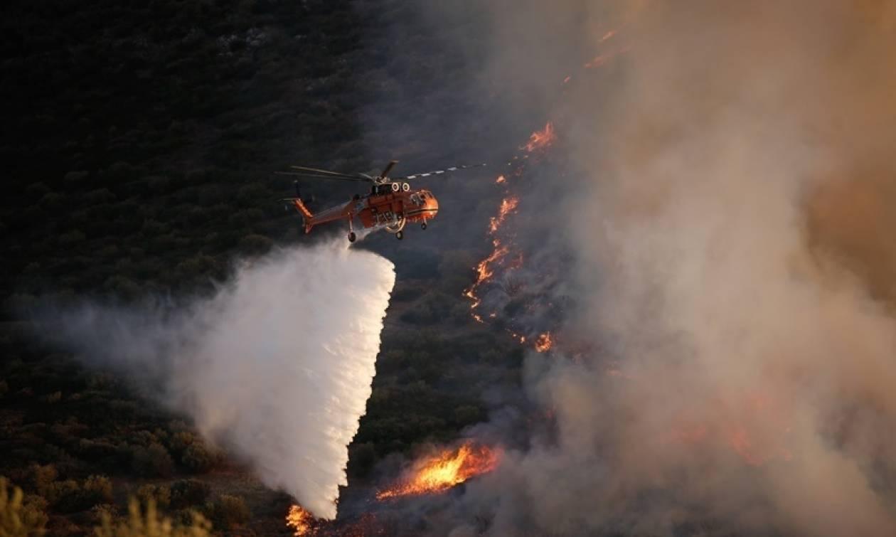 Φωτιά τώρα: Σε αυτές τις περιοχές μαίνονται πυρκαγιές σήμερα Σάββατο