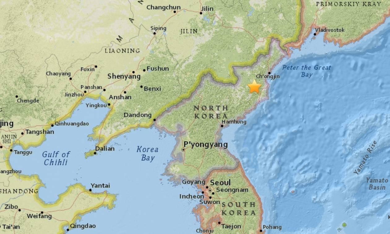 Μυστήριο με δύο σεισμούς στη Βόρεια Κορέα