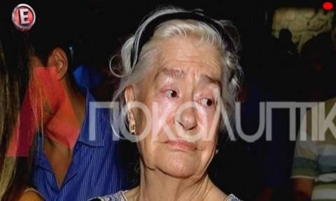 Η Κατερίνα Χέλμη «λυγίζει» μιλώντας για τον χαμό της Ζωής Λάσκαρη (Vid)