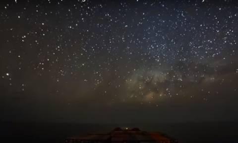 Μοναδικό βίντεο δείχνει κάτι που οι περισσότεροι δεν θα δούμε ποτέ στη ζωή μας