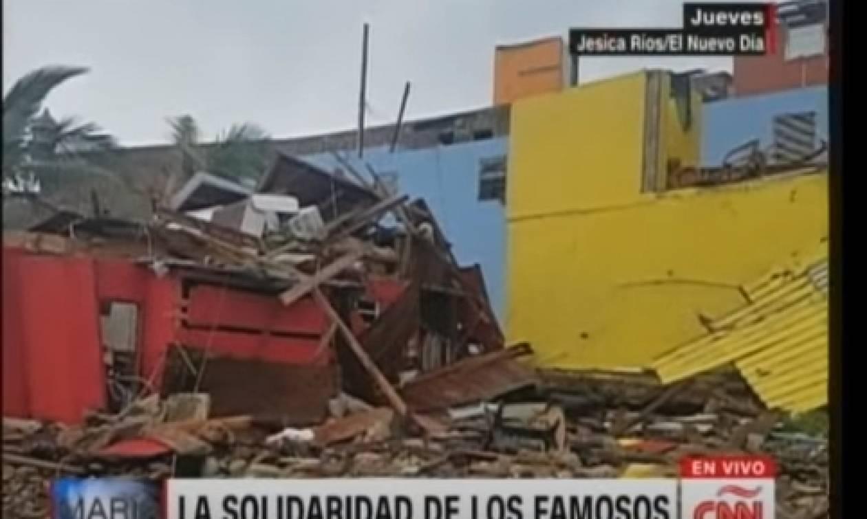Ο τυφώνας «Μαρία» σάρωσε και τη γειτονιά που γυρίστηκε το Despacito (video)