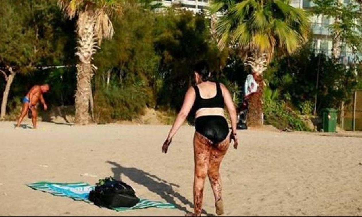Πετρελαιοκηλίδα: Η οργισμένη απάντηση του Βέλγου φωτογράφου στην Αυλωνίτου για τα περί photoshop