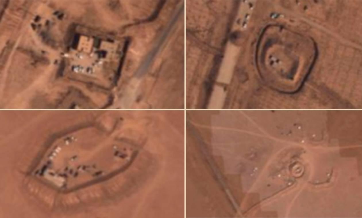 Φωτογραφίες ντοκουμέντο των Ρώσων – Αμερικανοί κομάντος σε θέσεις του ISIS