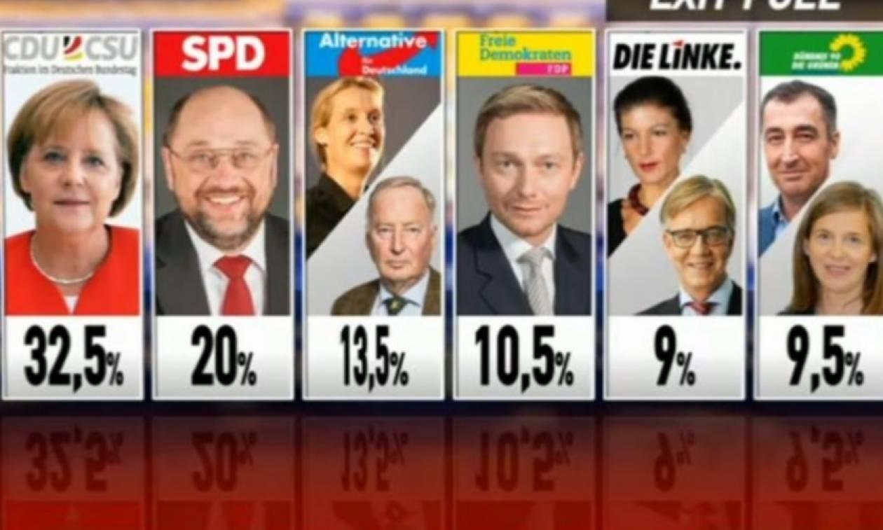 Αποτελέσματα γερμανικές εκλογές: Πολιτικός σεισμός από τα ποσοστά των ακροδεξιών