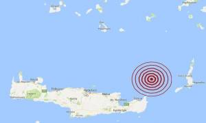 Σεισμός βόρεια της Σητείας (pics)
