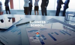 Mediterranean College: Απόκτησε αναγνωρισμένο πτυχίο από το πρώτο Business School στην Ελλάδα!