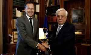 Παυλόπουλος σε Ντάισελμπλουμ: Οι εταίροι να τηρήσουν την υποχρέωση για ελάφρυνση του χρέους
