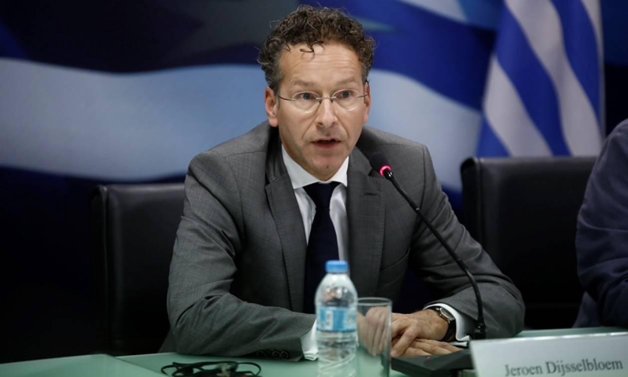Ντάισελμπλουμ: Η ελληνική κυβέρνηση πρέπει να εκπληρώσει όλες τις δεσμεύσεις της