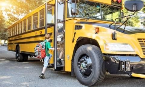 Ασφαλής μετακίνηση στο σχολείο  με το σχολικό λεωφορείο: Tι πρέπει να πεις στο παιδί