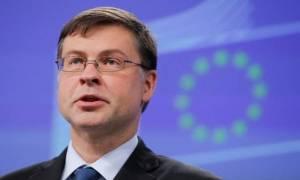 «Χαστούκι» από Ντομπρόβσκις: Η Ελλάδα δεν χρειάζεται κούρεμα χρέους - 3,5% πλεόνασμα το 2018