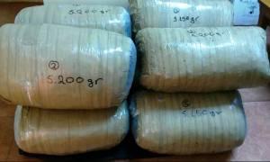 Πολωνός προσπάθησε να περάσει στην Ελλάδα 41 κιλά κάνναβης