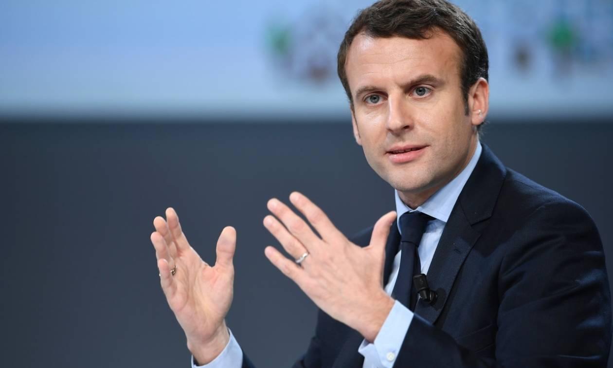 Ηχηρό μήνυμα Μακρόν: Ευρωστρατός, υπερ-υπουργός Οικονομικών και κοινός ευρωπαϊκός Προϋπολογισμός