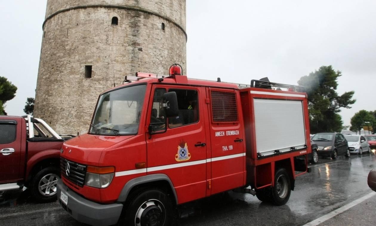 Κακοκαιρία: Δύσκολη νύχτα πέρασε η Θεσσαλονίκη - 120 κλήσεις δέχθηκε η Πυροσβεστική