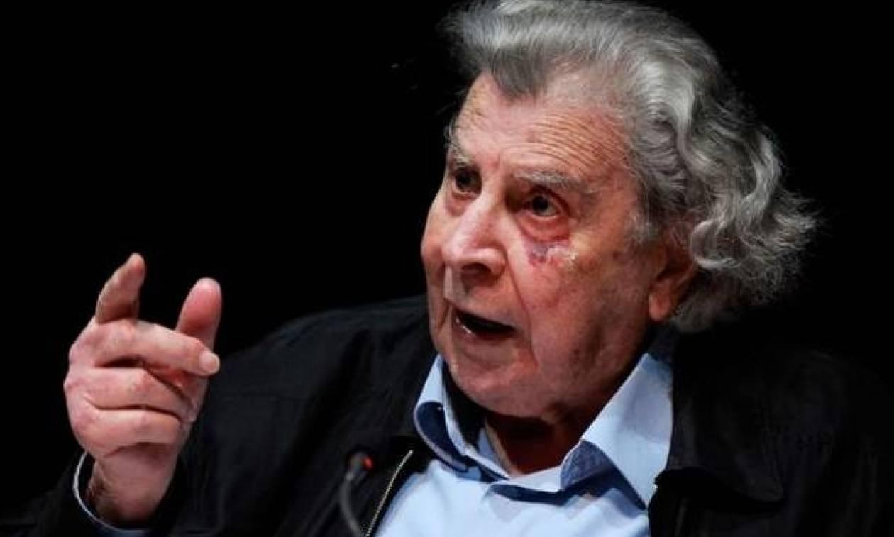 Μίκης Θεοδωράκης: Ο ΣΥΡΙΖΑΝΕΛ θα μείνει στην ιστορία ως η δεξιότερη από όλες τις κυβερνήσεις