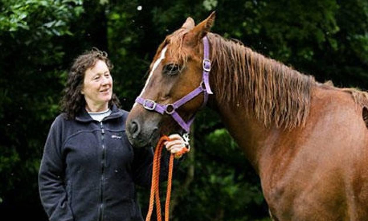 Αυτό είναι το πιο περίεργο άλογο του κόσμου! Αυτό που έχει στην πλάτη του θα σας σοκάρει (pics+vid)
