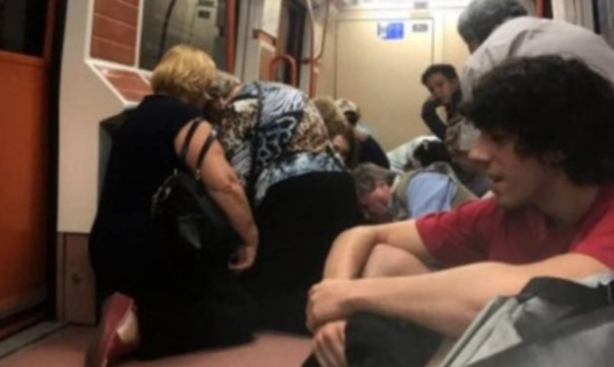 Πανικός στο Μετρό της Μαδρίτης από πυροβολισμούς (pics)