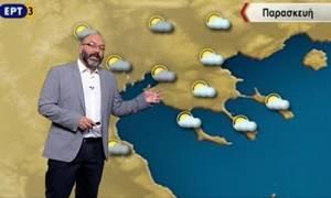Η προειδοποίηση του Σάκη Αρναούτογλου: Ερχεται πτώση της θερμοκρασίας (Video)