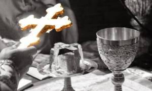 Συγκλονιστικό θαύμα: «Χυνόταν αίμα από το Άγιο Ποτήριο» (vid)
