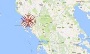 Σεισμός κοντά στην Κέρκυρα (pics)