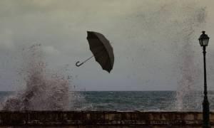 Καιρός τώρα: Παρασκευή με βροχές, πτώση της θερμοκρασίας και πολλά μποφόρ (pics)
