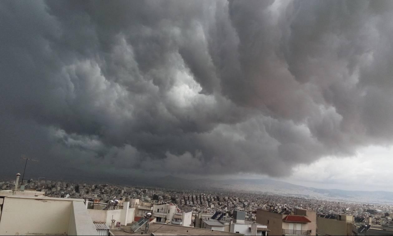 Καιρός ΤΩΡΑ: Ανατροπή στις προγνώσεις! Δείτε πού θα βρέξει τις επόμενες ώρες
