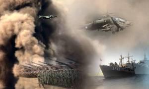 Η «μάχη» άρχισε: Σε επιφυλακή Στρατός, Ναυτικό και Αεροπορία