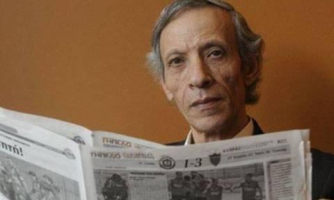 Θλίψη! Πέθανε ο δημοσιογράφος Δημήτρης Μάμας