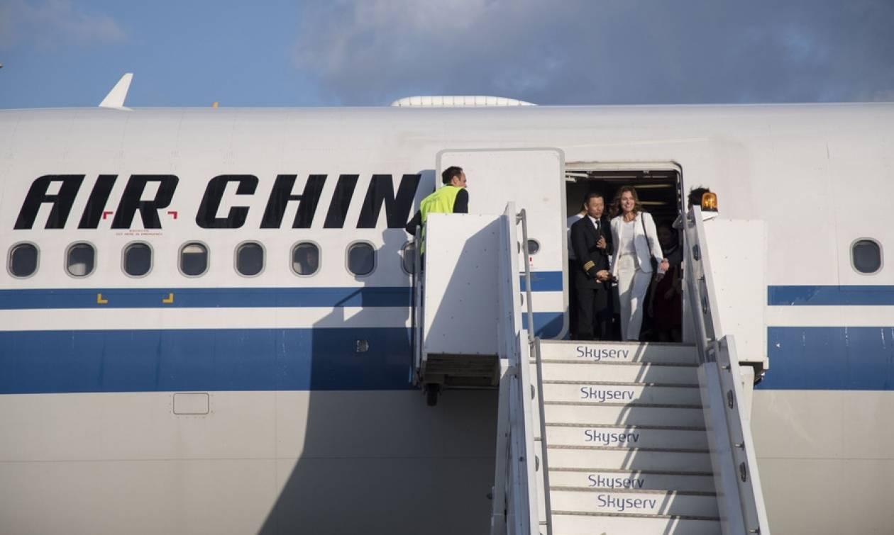 Εκθαμβωτική η Μπέτυ Μπαζιάνα στην ιστορική πτήση! (pics)