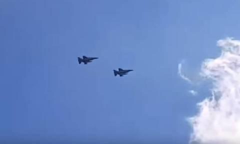 Ελληνικά μαχητικά πάνω από την Κύπρο - Το συγκινητικό μήνυμα των πιλότων