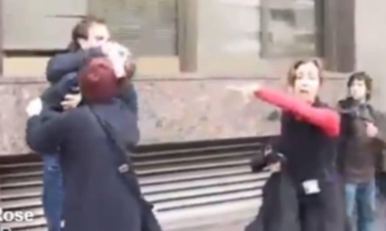 Καταλονία: Συγκλονιστικό βίντεο με αστυνομικούς να δέρνουν γυναίκες