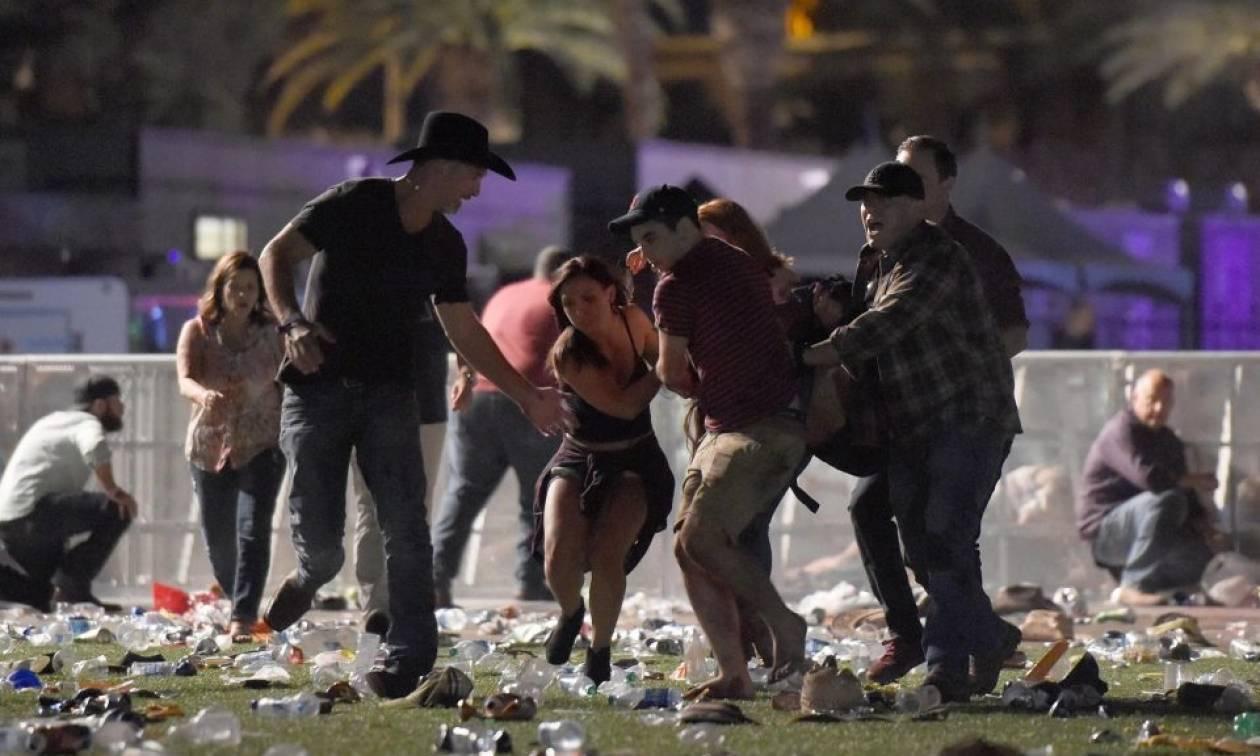 Μακελειό σε συναυλία στο Λας Βέγκας – Φόβοι για δεκάδες νεκρούς (Vid)