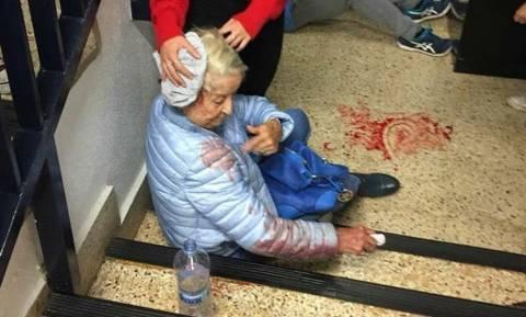 Ποιο καθήκον σου επιτάσσει να χτυπήσεις αυτή τη γιαγιά;