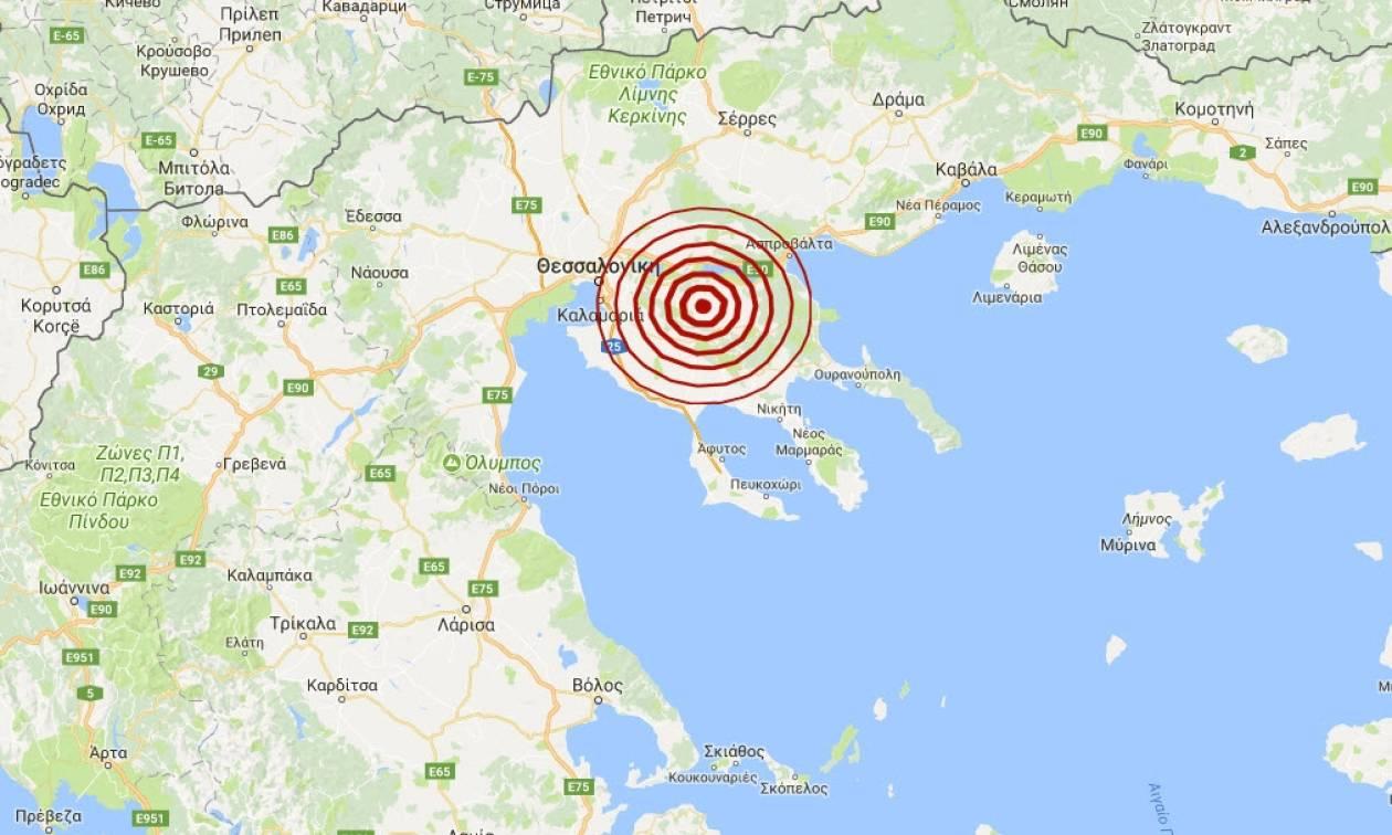 Σεισμός κοντά στον Πολύγυρο